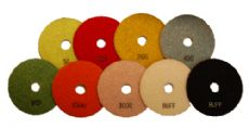 Diamond polishing pad set / Abtec4Abrasives
